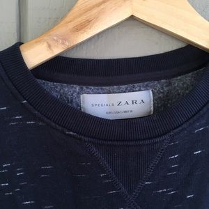 Zara Specials / Daily Outfit - Navy Sweatshirt
